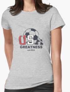 USA Greatness Womens Fitted T-Shirt