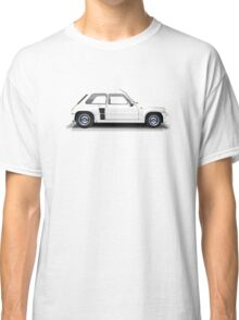 Renault 5 Turbo (white) Classic T-Shirt