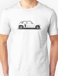 Renault 5 Turbo (white) Unisex T-Shirt