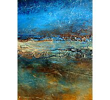 Abstract Seascape Painting Pier 39 Artist Holly Anderson Photographic Print