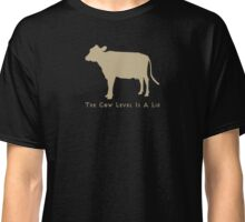 Cow level-gold Classic T-Shirt