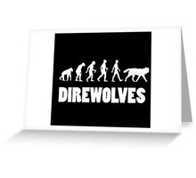 Direwolves Greeting Card