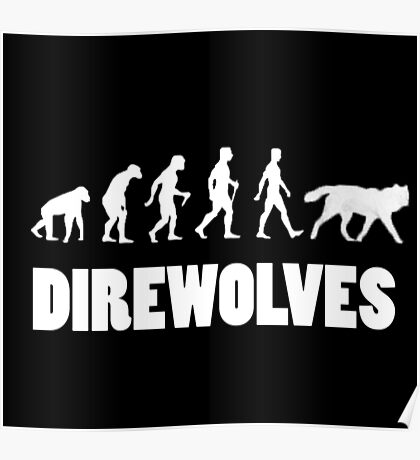 Direwolves Poster