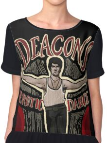 What We Do In The Shadows Deacon's Erotic Dance Lounge Chiffon Top