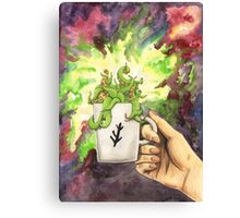 Eldritch In Your Cup Canvas Print