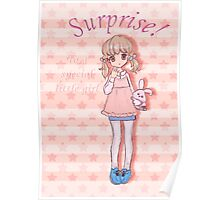 Surprise! To A Special Little Girl Poster