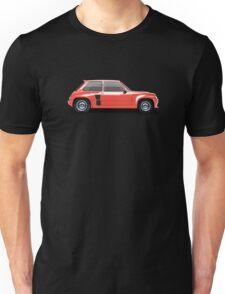 Renault 5 Turbo (red) Unisex T-Shirt