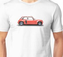 Renault 5 Turbo (red) Unisex T-Shirt