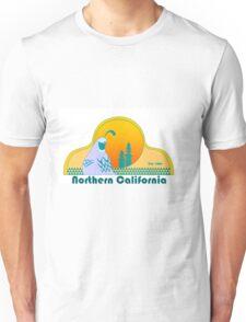 Northern California Retro Quail Unisex T-Shirt