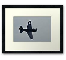 WWII HellDiver Framed Print