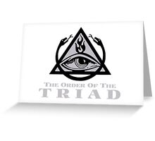 Order of the Triad - The Venture Brothers Greeting Card