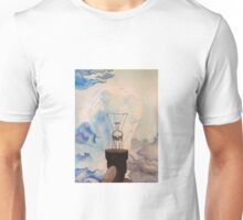 watercolor/ink light bulb Unisex T-Shirt