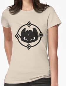 How To Train Your Dragon 2 Night Fury Tee Womens Fitted T-Shirt