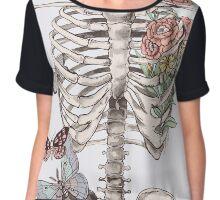 watercolour anatomy Chiffon Top