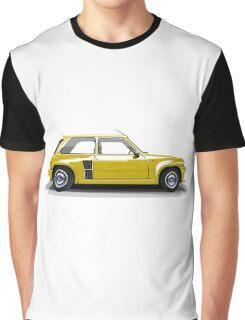 Renault 5 Turbo (yellow) Graphic T-Shirt