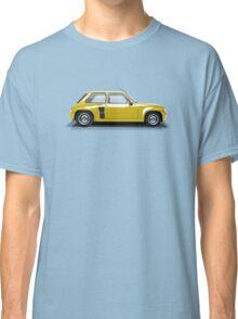 Renault 5 Turbo (yellow) Classic T-Shirt