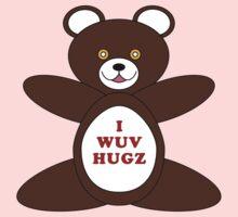 I Wuv Hugz One Piece - Long Sleeve