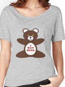 I Wuv Hugz Women's Relaxed Fit T-Shirt