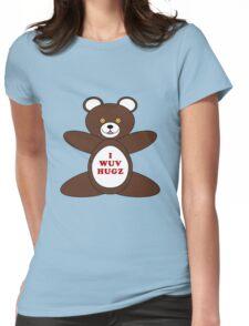 I Wuv Hugz Womens Fitted T-Shirt