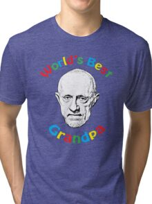 World's Best Grandpa Tri-blend T-Shirt