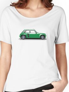 Renault 5 Turbo (green) Women's Relaxed Fit T-Shirt