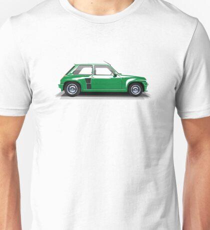 Renault 5 Turbo (green) Unisex T-Shirt