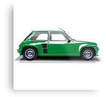 Renault 5 Turbo (green) Metal Print