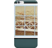 Old Fence Portrait iPhone Case/Skin