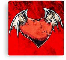 Evil Heart Canvas Print