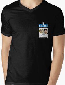 Abby Sciuto NCIS ID Badge Shirt Mens V-Neck T-Shirt