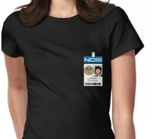 Abby Sciuto NCIS ID Badge Shirt Womens Fitted T-Shirt
