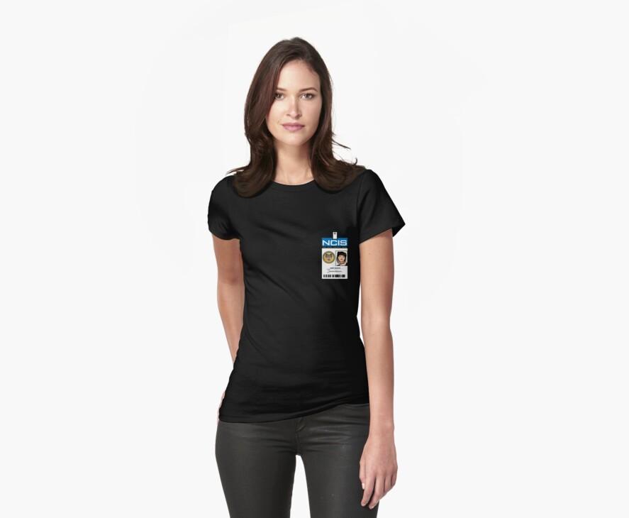 Abby Sciuto NCIS ID Badge Shirt by zorpzorp