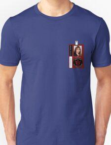 Fringe Parallel Universe Olivia Dunham ID Badge Shirt Unisex T-Shirt