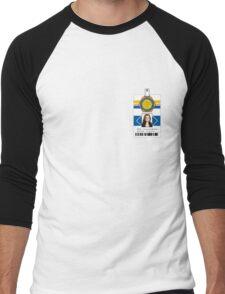 "Bones ID Shirt Dr. Temperance ""Bones"" Brennan Men's Baseball ¾ T-Shirt"
