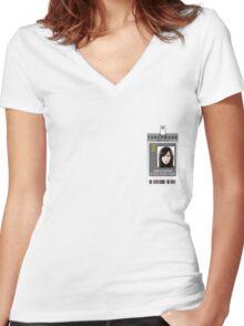 Torchwood Gwen Cooper ID Shirt Women's Fitted V-Neck T-Shirt