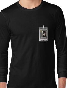 Torchwood Gwen Cooper ID Shirt Long Sleeve T-Shirt