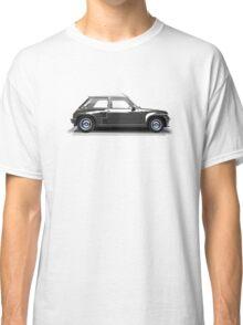 Renault 5 Turbo (black) Classic T-Shirt