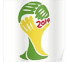 FIFA World Cup Logo Brazil 2014 Poster