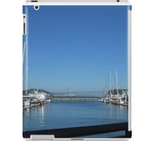 Golden gate and sails iPad Case/Skin