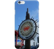 Fishermans Wharf iPhone Case/Skin
