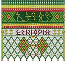 Green Yellow and Red Chelie by Ethiohahu