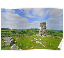 Dartmoor: Bowerman's Nose Poster