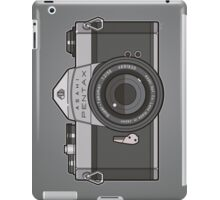 Asahi Pentax 35mm Analog SLR Camera Line Art Graphic Gray iPad Case/Skin