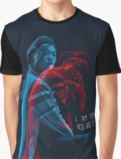 I AM YOU, YOU ARE ME. (너는 나 나는 너) Graphic T-Shirt