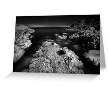 The Rock - Infra Red Sea Greeting Card