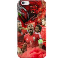 Wales star players merchandise  iPhone Case/Skin