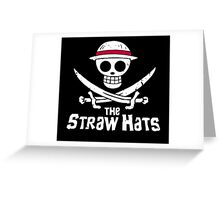 THE STRAW HATS Greeting Card