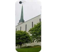 London Temple, near Lingfield, Surrey iPhone Case/Skin