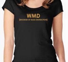 WMD - Wookiee of Mass Destruction Women's Fitted Scoop T-Shirt