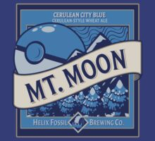 Mt. Moon Pokemon Beer Label by Rachael Thomas